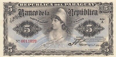 Paraguay Early Banknote, good condition