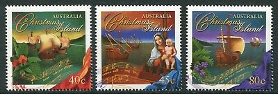 Christmas 1996 - Mnh Set Of Three (Bl331-Rr)