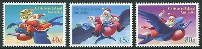 Christmas 1995 - Mnh Set Of Three (Bl331-Rr)