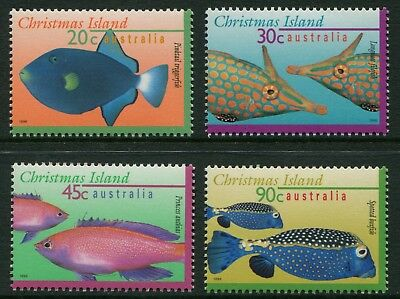 Marine Life Definitives Part Ii 1996 - Mnh Set Of Four (Bl332-Rr)