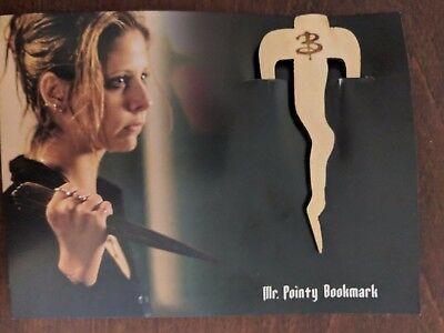 Buffy the Vampire Slayer Mr Pointy stake Bookmark loot crate
