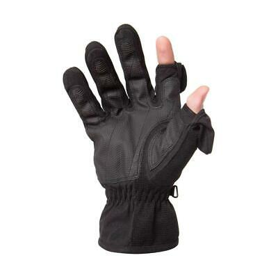 Freehands Men's Stretch Thinsulate Gloves, Large, Black #11121ML