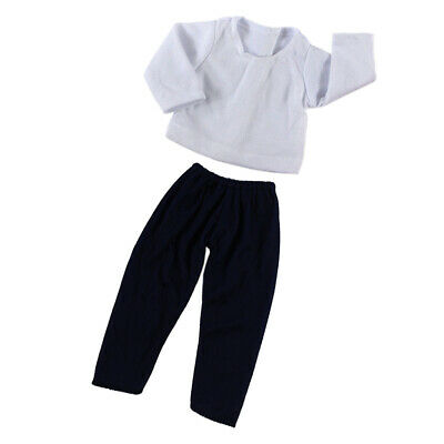 """Doll Clothes T-Shirt Pants Trousers Set for 18"""" American Girl My Life Dolls"""