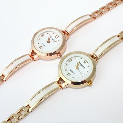 10pcs Hot Popular Women Girls Bangle Watches Quartz Bracelet Wristwatch O122M