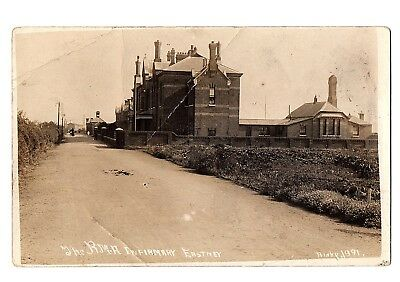 Old Postcard Rma Infirmary Eastney Nr Portsmouth Hampshire Poor Condition