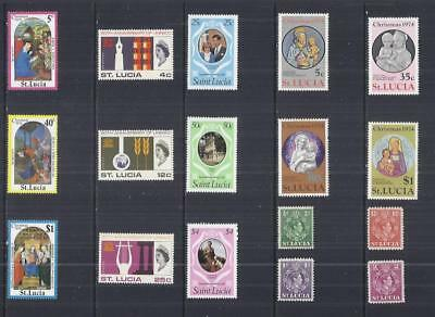 y2762 Saint  Lucia / A Small Collection  Early & Modern Umm Lhm