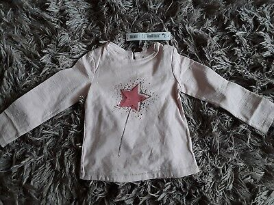 Next girls long sleeved top from there signature range age 18-24 months bnwt