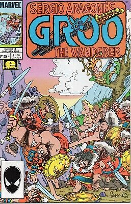 Groo The Wanderer #11 (NM)`86 Aragones