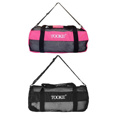 Heavy Duty Scuba Mesh Bag For Snorkeling Diving Dive Fins Flippers Goggles