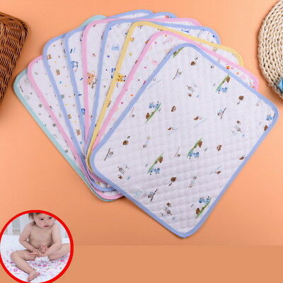 Chic Baby Diaper Nappy Urine Mat Kid Waterproof Bedding Changing Cover Pad