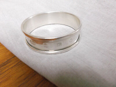 A   Sterling  Silver    Napkin Ring   Edinburgh   2000