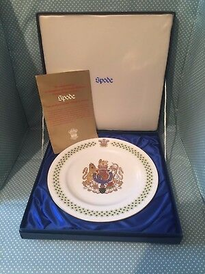 Spode China Commemorative plate, His Royal Highness Charles, Prince of Wales.