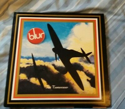 "Blur 'For Tomorrow' 1993 12"" Vinyl single britpop indie oasis great condition"