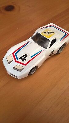 Matchbox powertrack slot car Porsche 911 Vaillant  colours with lights
