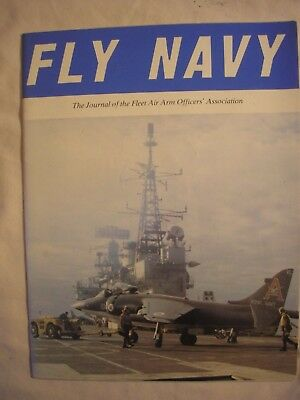 Fleet Air Arm Royal Navy Journal 1981 British History Hermes Invincible Cold War