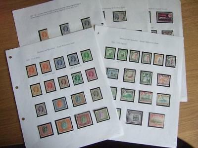 UNMOUNTED MINT COMPLETE QEII of RHODESIA & NYASALAND 1954-63, 17 Photo, Cat £320