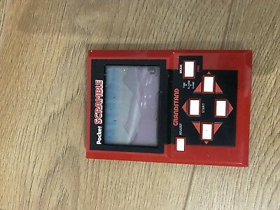 Grandstand Pocket Scramble Handheld Game Console