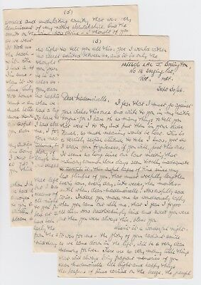 WW2 Long Letter No 14 Staging Post RAF Middle East Forces 1944 Sweetheart