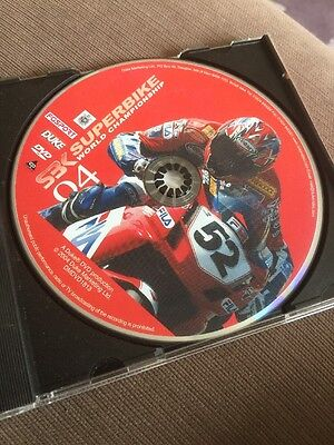 World Superbike Review 2004 (DVD, 2004), Disc Only,