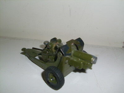 Britains 1725 4.5 Inch Howitzer, Rare Early Version, Clamp Elevating Screw