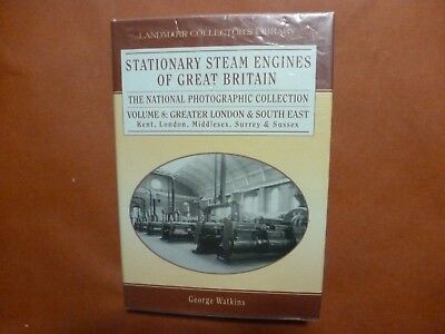 Stationary Steam Engines Of Great Britain Vol 8 Greater London George Watkins