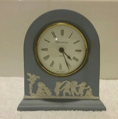 Wedgwood Blue Clock