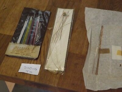Large Lot Of 400 Day  Anniversary Clock Suspension Spring Wires