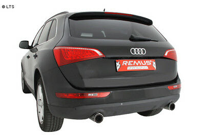 Remus Duplex Performance Exhaust Audi Q5 TYPE 8R since built 08 2.0L TFSI Je