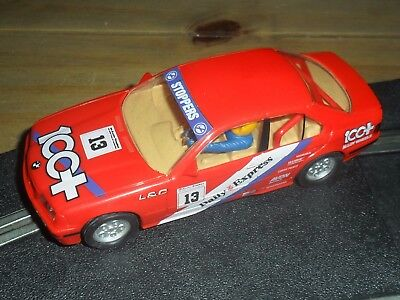 Scalextric vintage BMW series 3 M3 touring car Superb with front + rear lights
