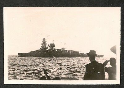 100% original German ww2 photo Graf Spee Batleship -- wehrmacht Luftwaffe