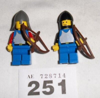 **lego Castle Knights Minifig Archers **#251