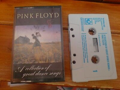 Pink Floyd A Collection Of Great Dance Songs Music Cassette 1981 Tc-Shvl 822