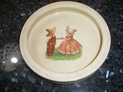 Vintage Childrens Bowl - Sunbonnet Children Center - NR