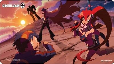 Gurren Lagann Playmat - Sunset play mat / playmat - Official Ultra PRO *NEW*