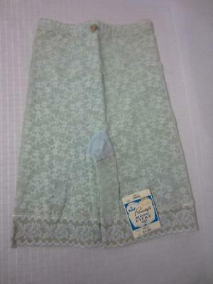 Vintage Primstyle Stretch Lace Girdle with Garters Mint Green Size Small NWT