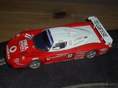 Scalextric Maserati MC12 touring / SUPER car # 1 Superb and fast with lights