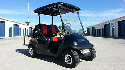 2017 Club Car Recondition Street Legal Lights Hi Spd 4 Pass Precedent Golf Cart
