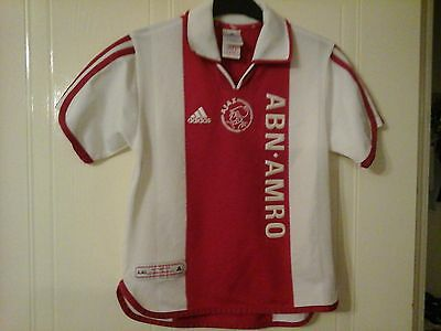 Ajak Football Shirt 1900-2000 Centinary 100 Years Shirt Adidas Abn-Amro Dutch