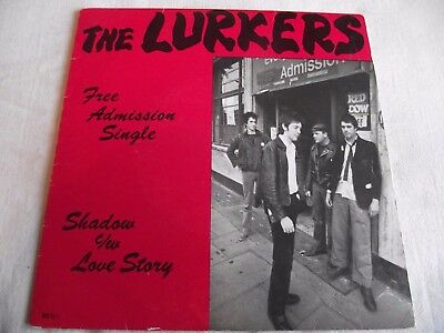 The Lurkers ~ Free Admission Single - Shadow ** 1977 Beggars Banquet 45