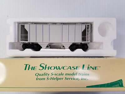 """S-Scale S-Helper """"Showcase Line"""" Unlettered PS-2 Covered Hopper #1"""
