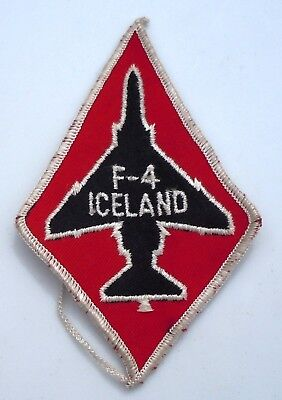 Usaf Military Patch 57Th Fighter Interceptor Squadron F4 Iceland