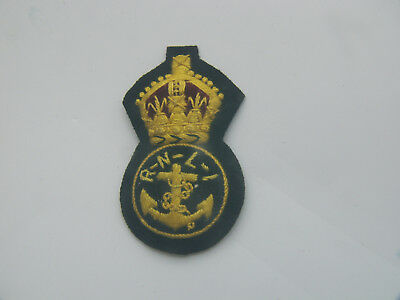 Royal Navy hat Badge embrodery