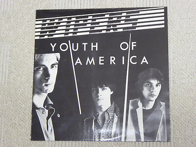 WIPERS - YOUTH OF AMERICA,LP,1981,DIY INDIE,PUNK from Portland OR,rare
