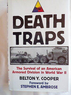Death Traps Survival Of American Armored Division Wwii Book Cooper