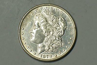 1878 S MORGAN DOLLAR BETTER DATE 90% SILVER CLEANED #0810 glcm