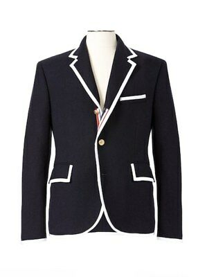 NWT Thom Browne Neiman Marcus Limited Edition Mens Blazer  Coat SIZE LARGE
