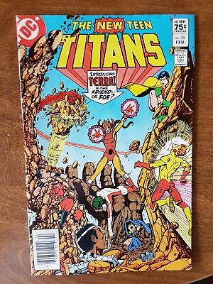 The New Teen Titans #28 Dc Feb 83 Vf Combine Shipping