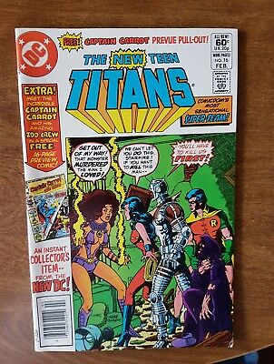 The New Teen Titans #16 Dc Feb 82 Vf Combine Shipping