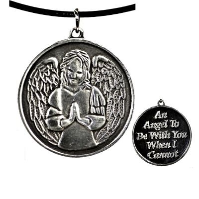 "Guardian-Angel-amulet ""An Angel To Be With You When I Can not"""