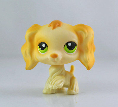 Pet Spaniel Dog Collection Child Girl Boy Figure Littlest Toy Loose LPS991